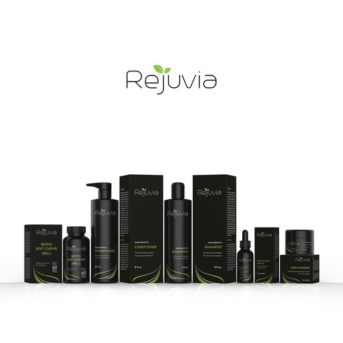 Rejuvia - All Natural Plant Based Hair Growth Treatment