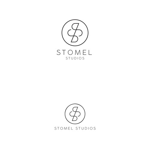 SS monogram design for STOMEL STUDIOS