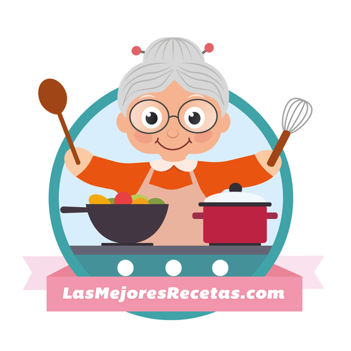 Adorable grandmother cook