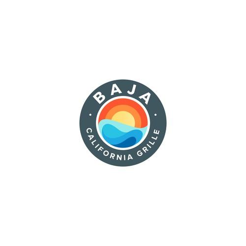 Sunny logo for Baja California Grille
