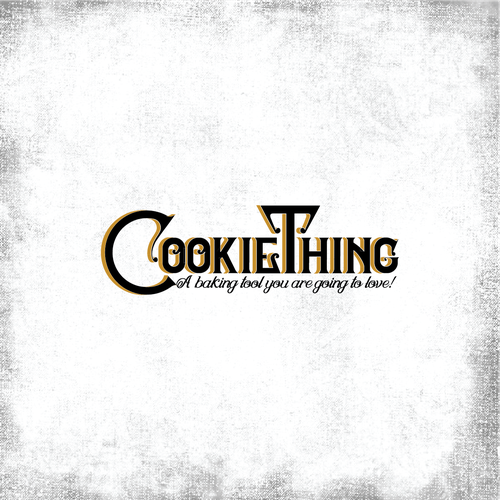 Text logo for a baking tool