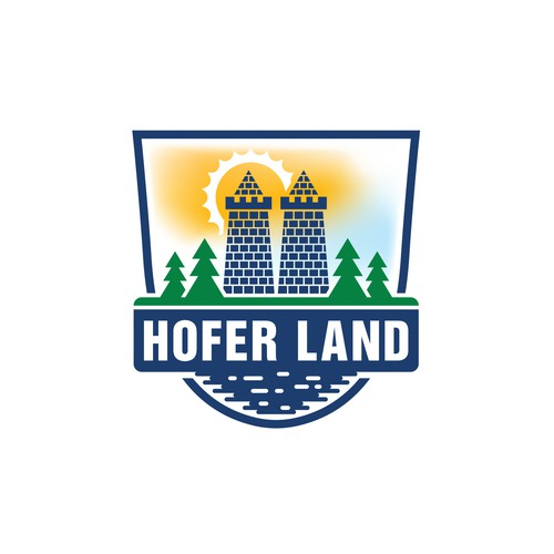Logo for a new tourism area in Germany