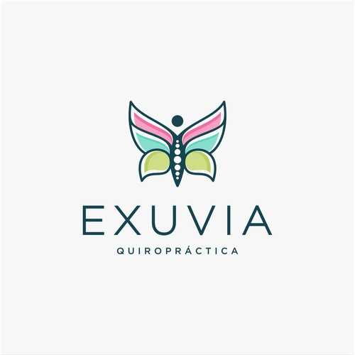 Butterfly + Chiropractic logo