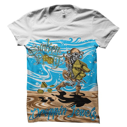 Skeleton T-Shirt for SB