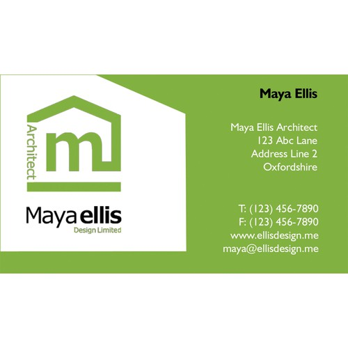 Help Maya Ellis Design Limited with a new stationery