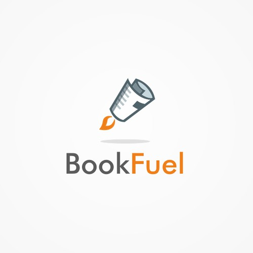 Logo for a online book store