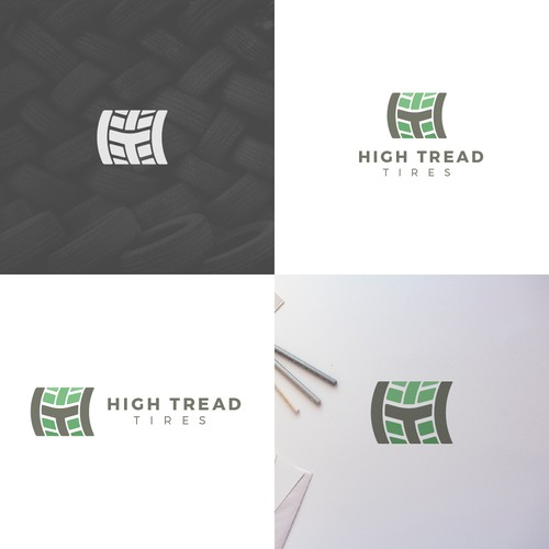 Logo concept for online tire sales company