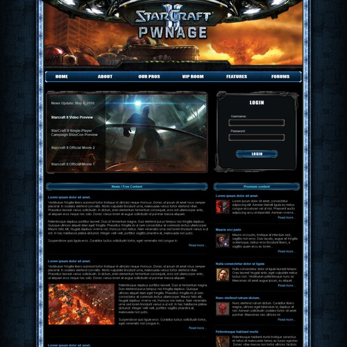 Starcraft Pwnage - Star Craft  2 News and Premium Content Site