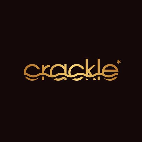 Crackle Logo Design