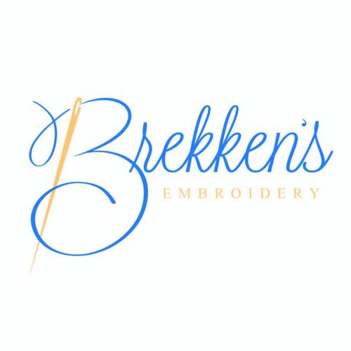 Brekken's Embroidery Logo