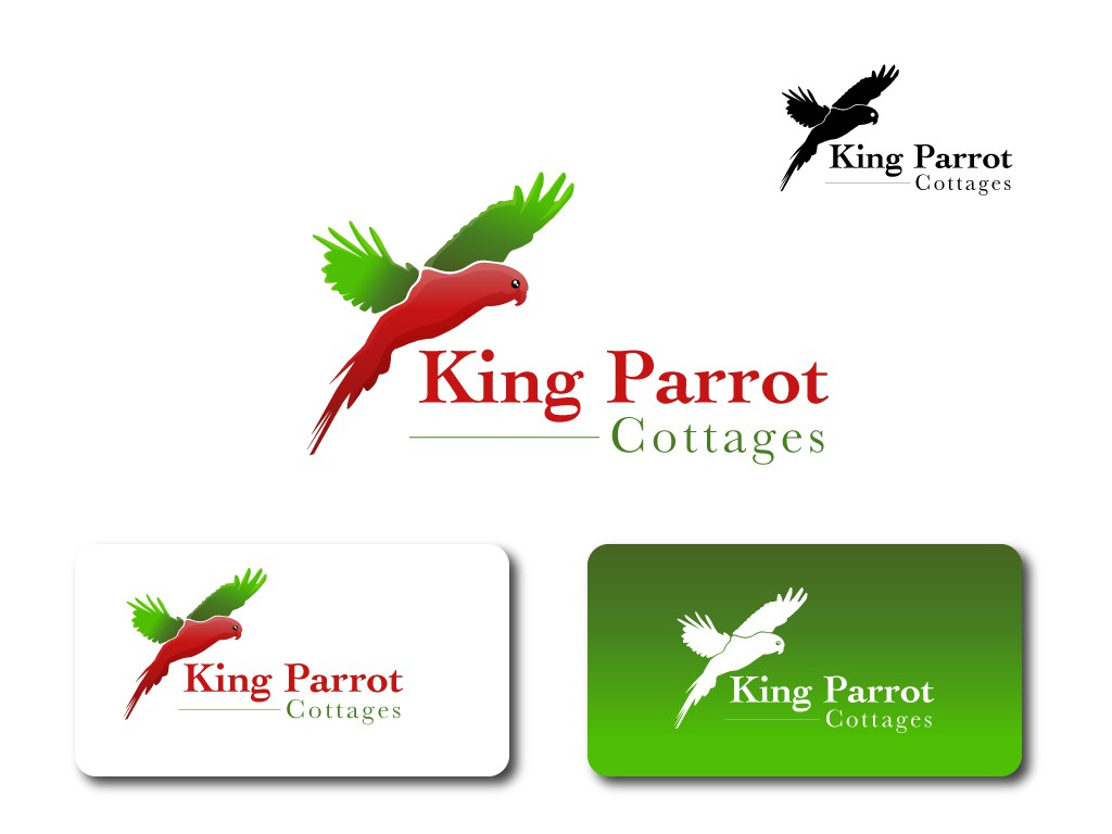 New logo wanted for King Parrot Cottages