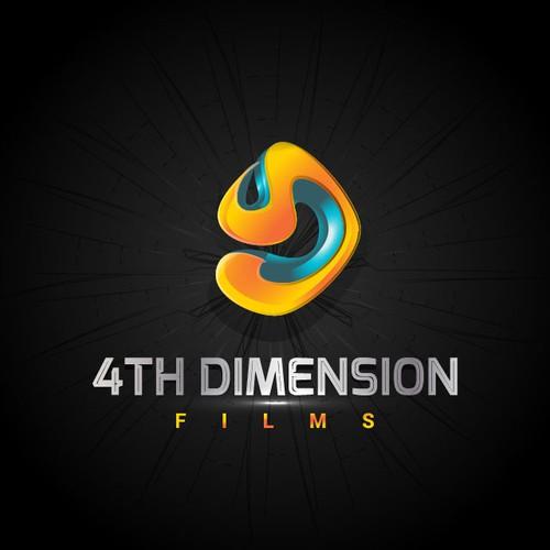 Create a unique logo design for  '4th dimension films' (indie film company)