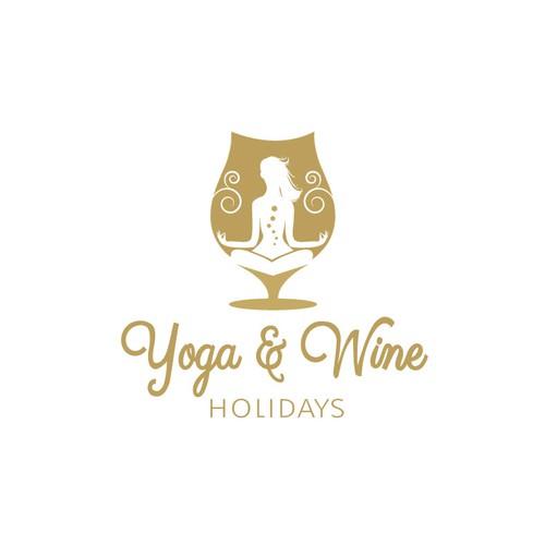 Yoga & Wine Holidays Logo