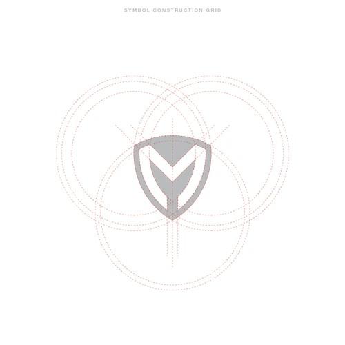 Shielded M logo