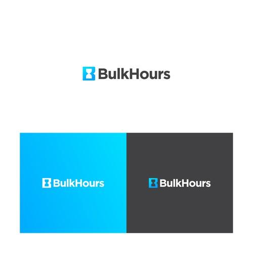 Bold logo for BulkHours