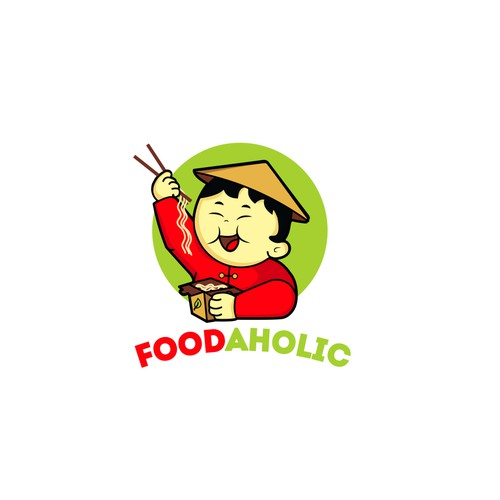 Logo for chinese takeaway food