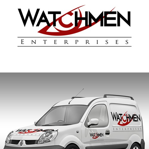 Create an image that captures the spirit of Watchmen Enterprises!