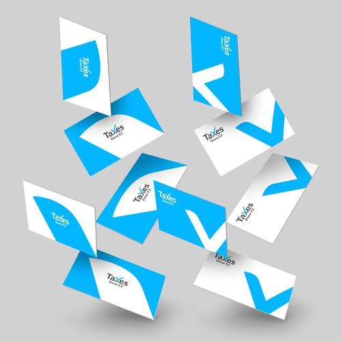 Taxes logo design