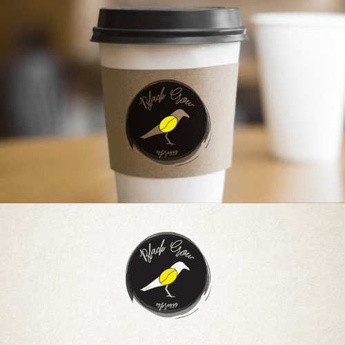 Logo for coffee window.