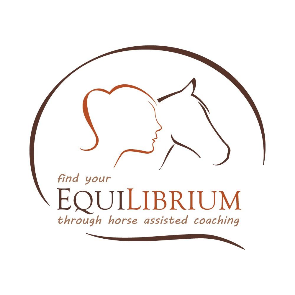 Erstelle ein edles Logo für einen pferdegestützten Coach