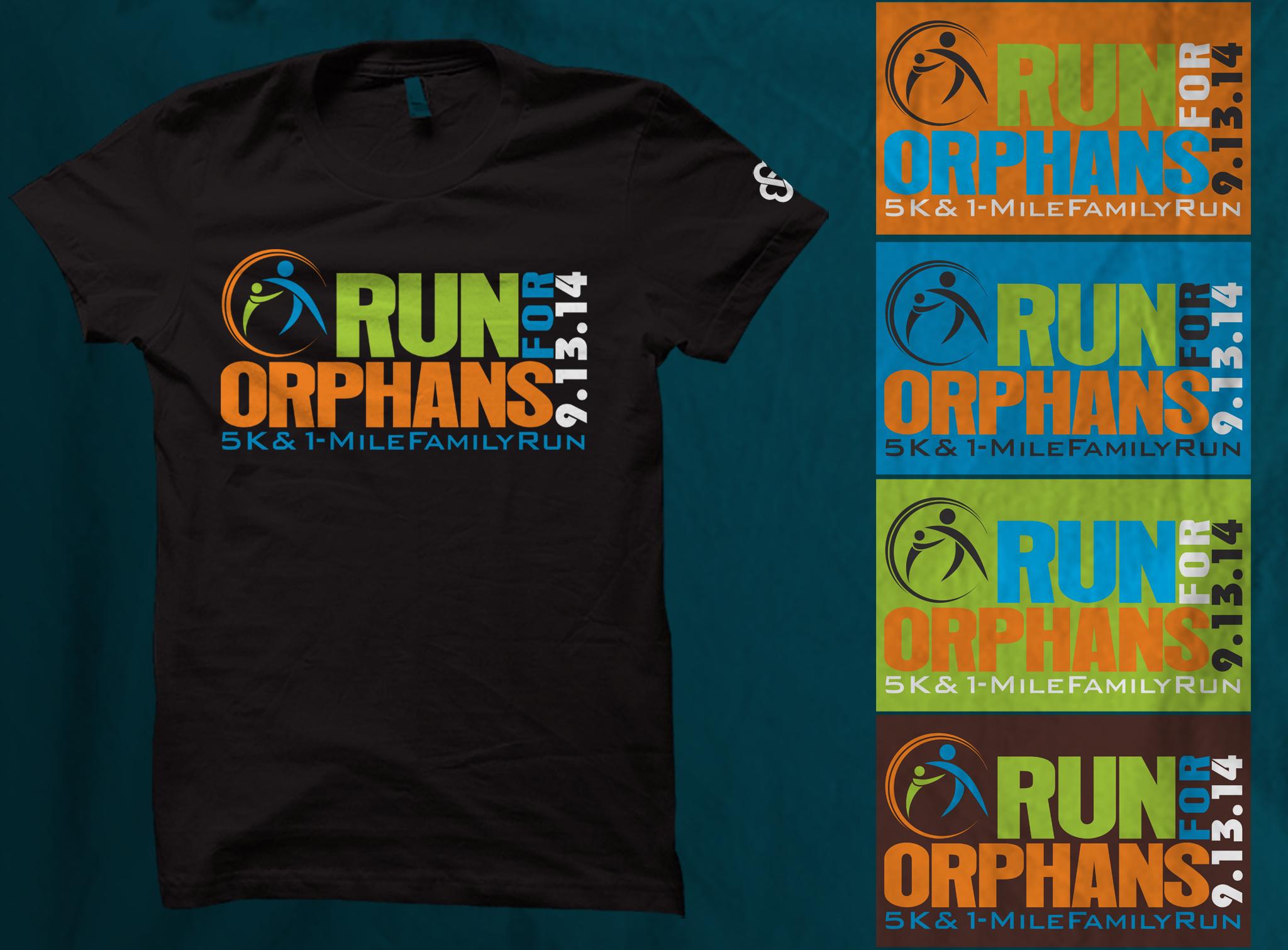 Run for Orphans 5K needs a creative T-shirt design!