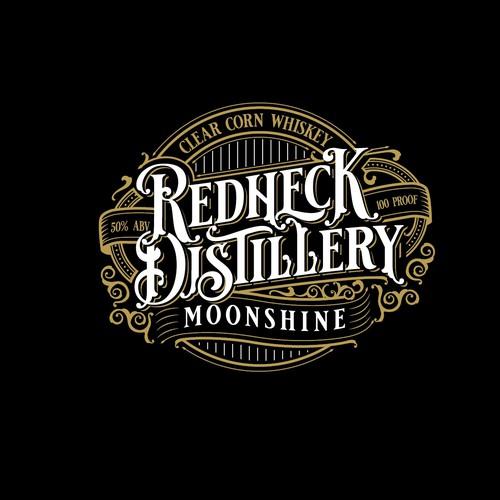 vintage distillery logo