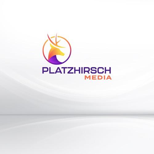 Logo Design for Platzhirsch Media