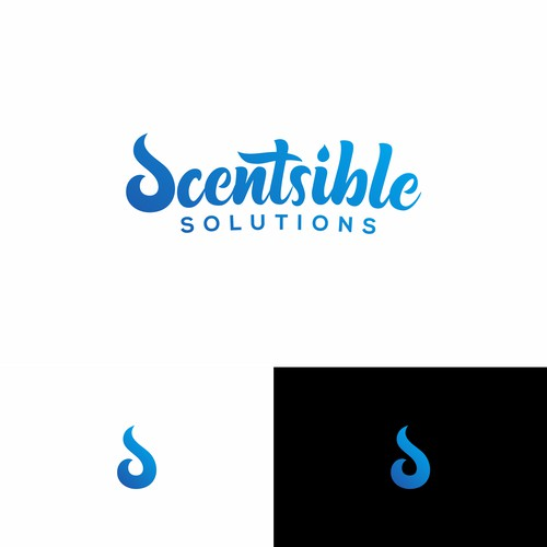 Scentsible Solutions logo design