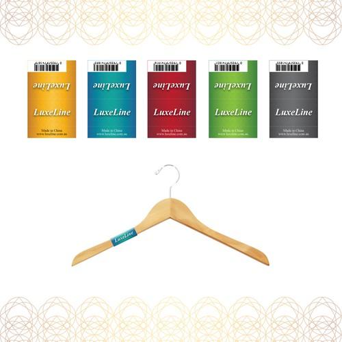 logo design for our coat hangers packaging.