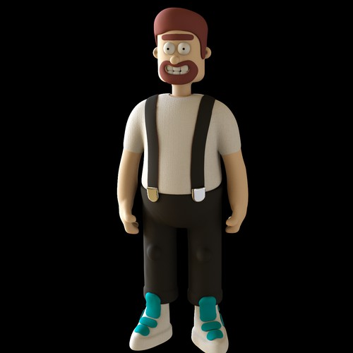 claymation character
