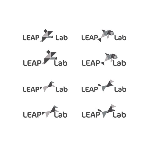 LEAP Lab logo design