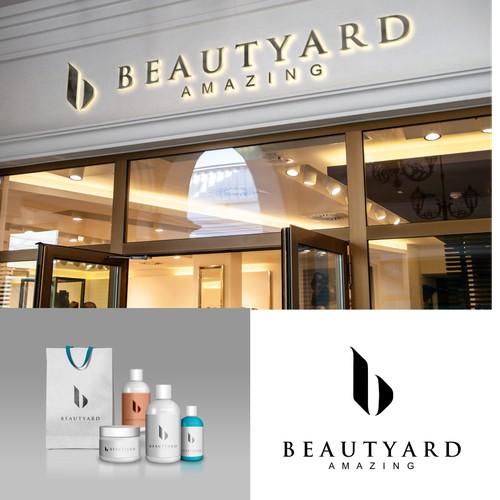 simple, clean and elegan logo for beautyard