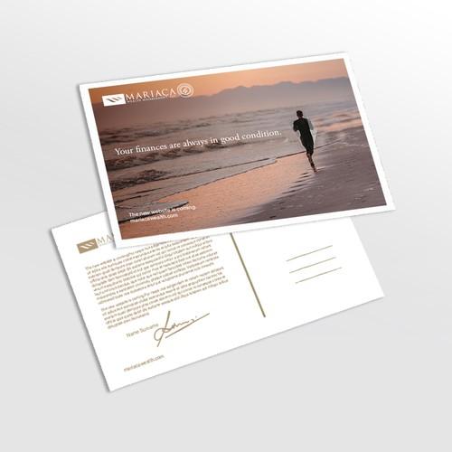 postcard concept