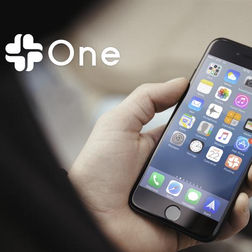 Plus One logo and iOS icon