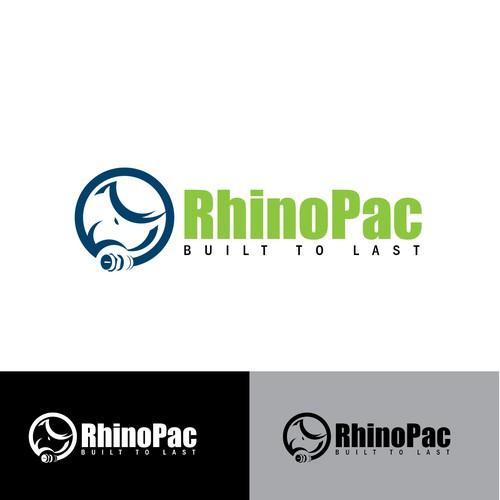 LOGO CONCEPT FOR RHINOPAC