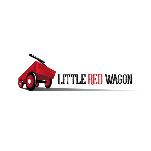 logo for little red wagon