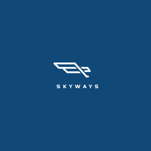 New tech startup (flying aircraft) - logo