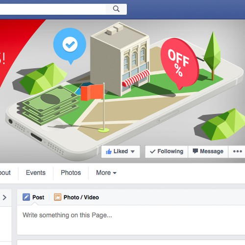 Illustration for Facebook Cover