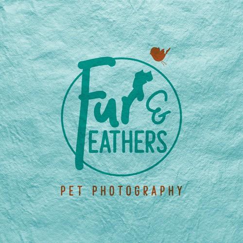 Pet photography logo