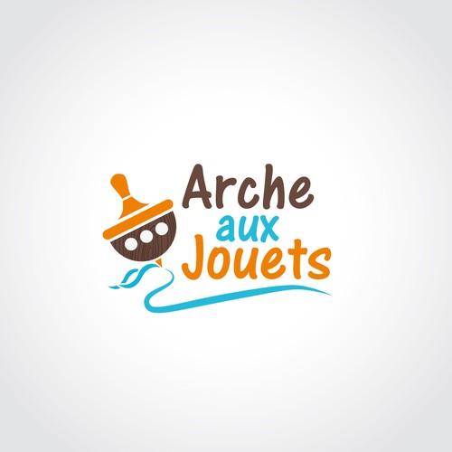 logo for wooden toys shop