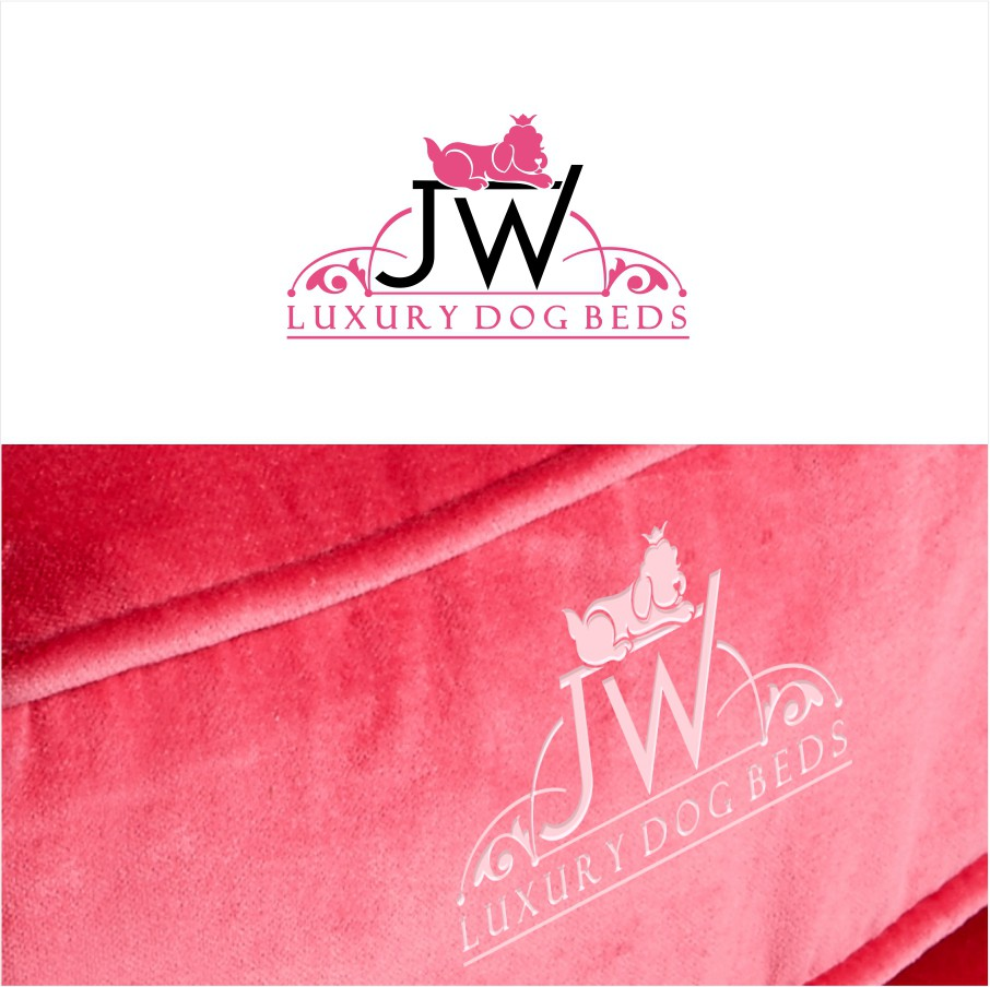 Luxury dog bed company needs fancy, exciting logo!