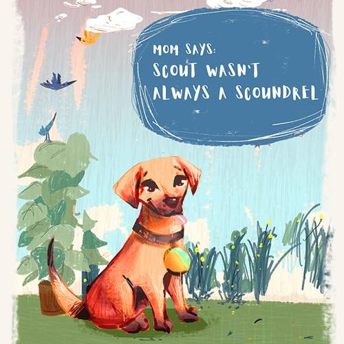 concept  art for children book