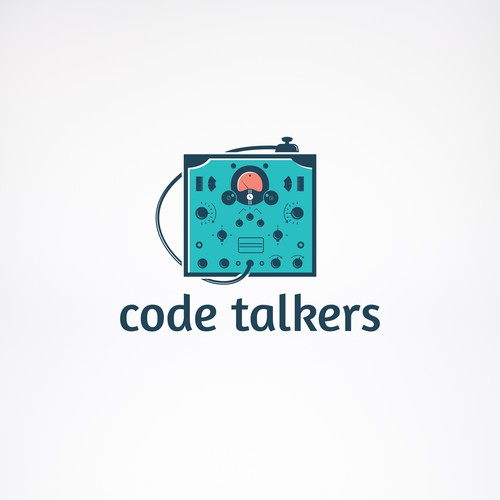 Logo for Code Talkers