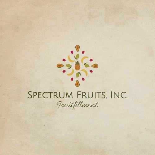 Logo for Spectrum fruits