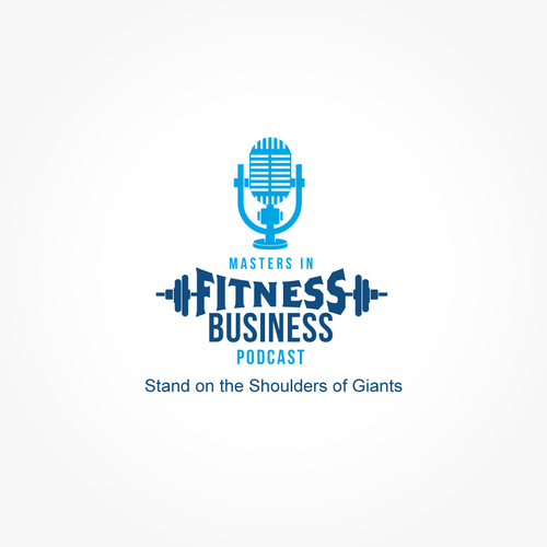 Fitness Podcast logo branding