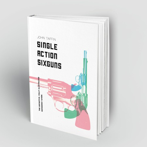 Book Cover For Book About Sixguns