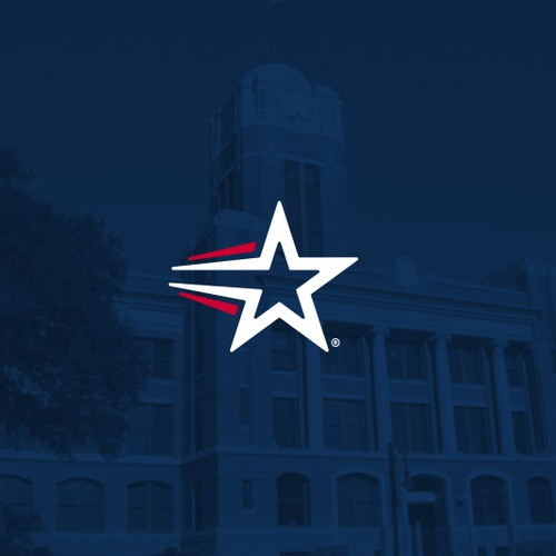 Logo for Cleburne city of texas.