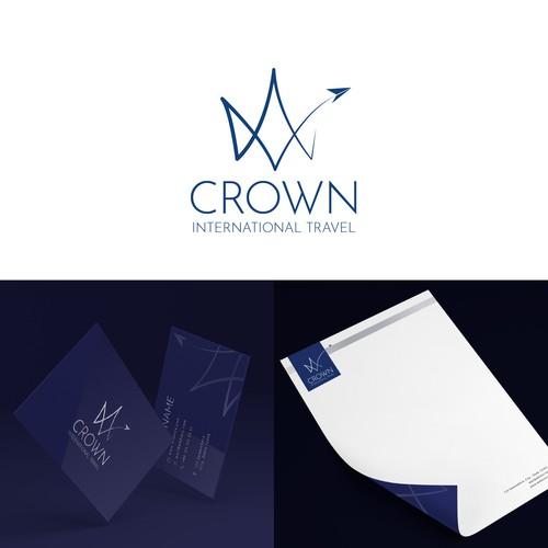 Crown International Travel branding