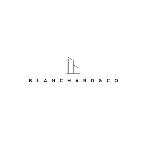Bold logo for BLANCHARD & CO