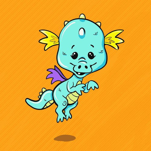 Baby Dragon Character Design